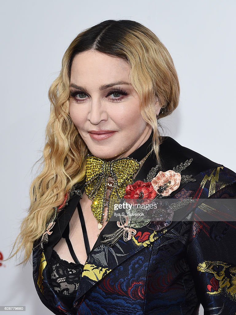 Madonna attends Billboard Women In Music 2016 Airing December 12th On Lifetime at Pier 36 on December 9, 2016 in New York City.
