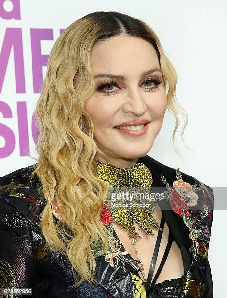 Madonna attends Billboard Women In Music 2016 on December 9 2016 in New York City