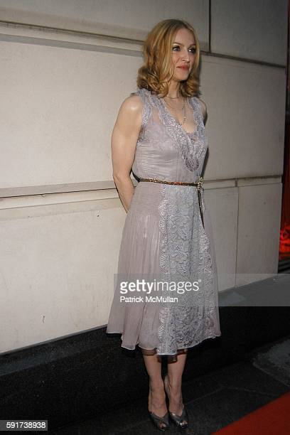 Madonna attends Madonna Childrens Book Lotsa de Casha published by Callaway Arts and Entertainment at Bergdorf Goodman on June 7 2005 in New York City