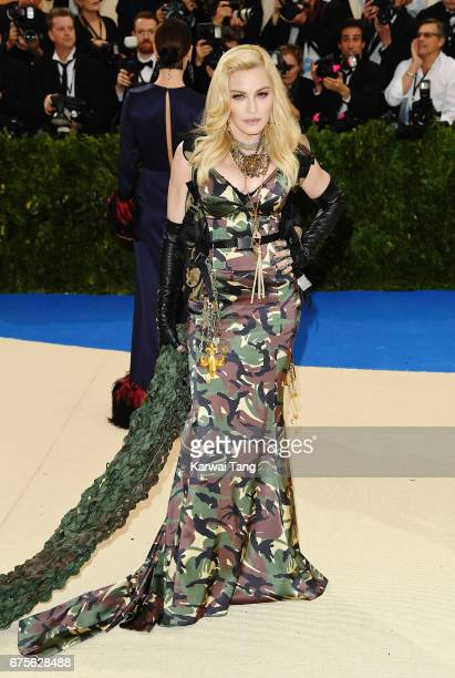 Madonna attends 'Rei Kawakubo/Comme des Garcons Art Of The InBetween' Costume Institute Gala at Metropolitan Museum of Art on May 1 2017 in New York...