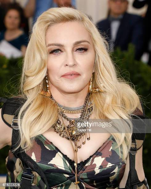 Madonna attends Rei Kawakubo/Commes Des Garcons Art of the InBetween the 2017 Costume Institute Benefit at Metropolitan Museum of Art on May 1 2017...