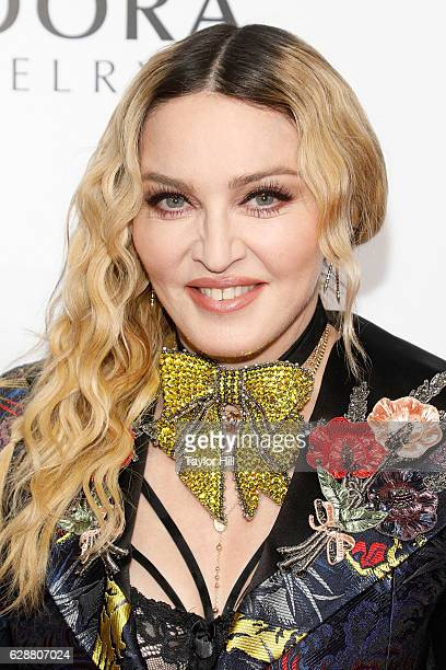 Madonna attends the 2016 Billboard Women in Music Awards at Pier 36 on December 9 2016 in New York City