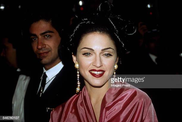 Madonna attends the 44th Annual Cannes Film Festival circa 1991 in Cannes France