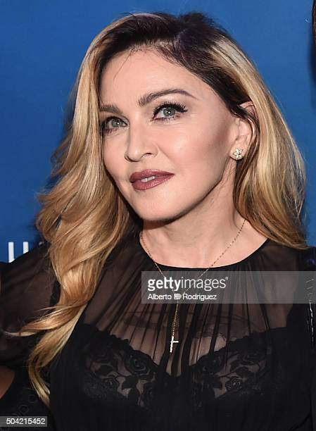 Madonna attends the 5th Annual Sean Penn Friends HELP HAITI HOME Gala Benefiting J/P Haitian Relief Organization at Montage Hotel on January 9 2016...