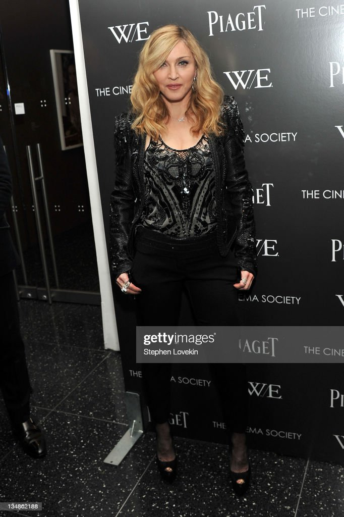 "The Cinema Society & Piaget Host A Screening Of ""W.E."" - Inside Arrivals : News Photo"