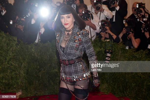 Madonna attends the Costume Institute Gala for the 'PUNK Chaos to Couture' exhibition at the Metropolitan Museum of Art in New York City �� LAN