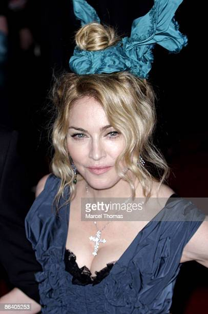 Madonna attends The Model as Muse Embodying Fashion Costume Institute Gala at The Metropolitan Museum of Art on May 4 2009 in New York City