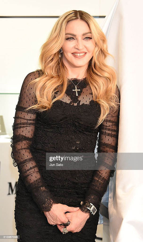 Madonna Promotes MDNA SKIN In Tokyo : News Photo
