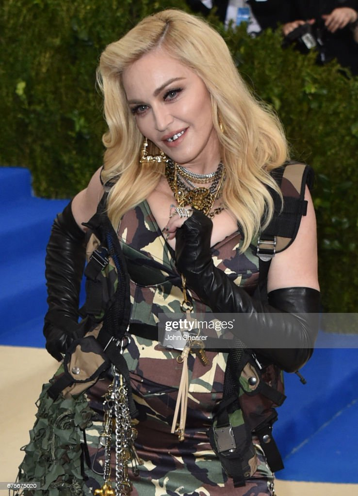 Madonna attends the 'Rei Kawakubo/Comme des Garcons: Art Of The In-Between' Costume Institute Gala at Metropolitan Museum of Art on May 1, 2017 in New York City.