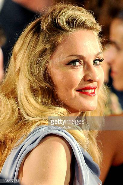 Madonna attends the 'WE' premiere during the 68th Venice International Film Festival at Palazzo del Cinema at Palazzo del Cinema on September 1 2011...