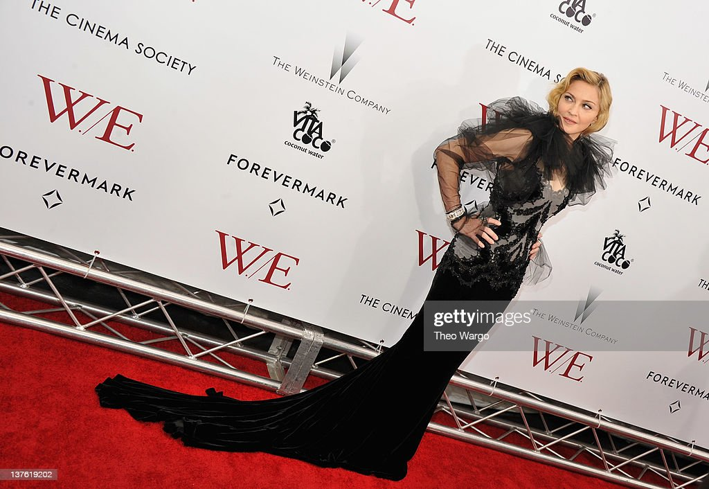 "The Weinstein Company With The Cinema Society & Forevermark Host The Premiere Of ""W.E."""
