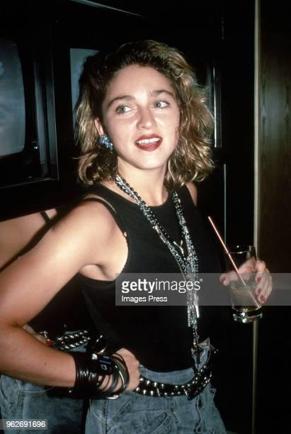 Madonna circa 1985 in New York City