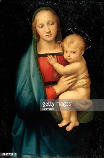 Madonna del Granduca by Raffaello Sanzio Raphael 1504 86x56 cm Palazzo Pitti Florence Italy