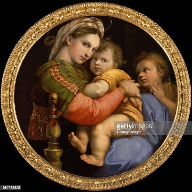Madonna della Seggiola 15131514 Found in the Collection of Palazzo Pitti Florence