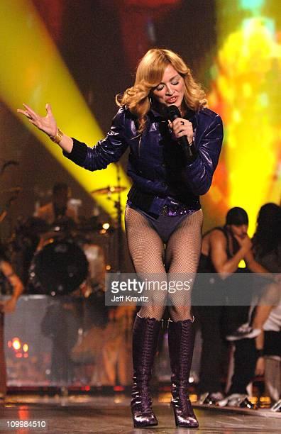 Madonna during 2005 MTV European Music Awards Lisbon Show at Atlantic Pavillion in Lisbon Portugal
