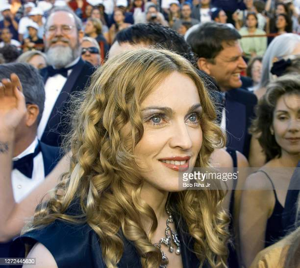 Madonna during arrivals at Academy Awards Show, March 23, 1998 in Los Angeles, California