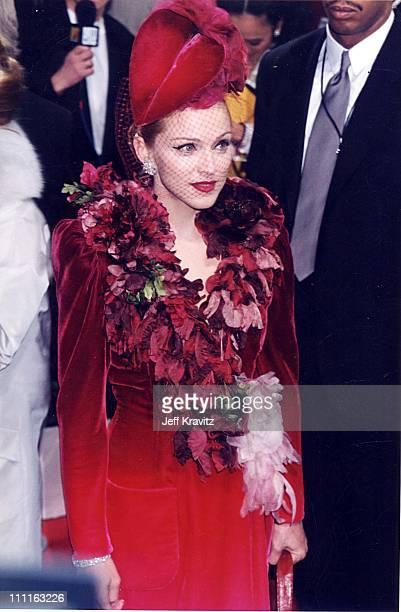 "Madonna during ""Evita"" Premiere at Shrine Theatre in Los Angeles, California, United States."