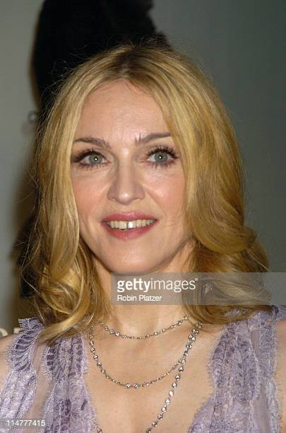 """Madonna during """"Lotsa de Casha"""" by Madonna Book Launch Party at Bergdorf-Goodman in New York - June 7, 2005 - Outside Arrivals at Bergdorf-Goodman in..."""