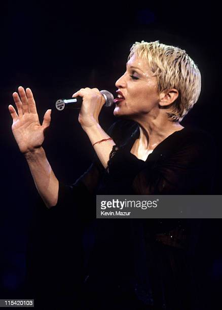 Madonna during Madonna Girlie Show Tour at MSG 1993 at Madison Square Show in New York City New York United States