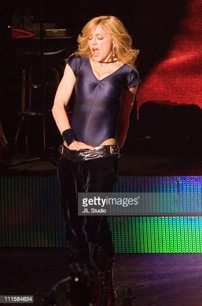 Madonna during Madonna in Concert at Studio Coast in Tokyo December 7 2005 at Studio Coast in Tokyo Japan