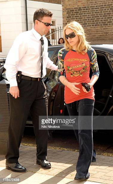 Madonna during Madonna Sighting At Her Gym in London - April 30, 2007 in London, Great Britain.