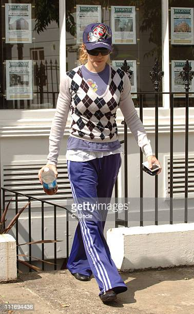 Madonna during Madonna Sighting in London - August 2, 2006 at London in London, Great Britain.
