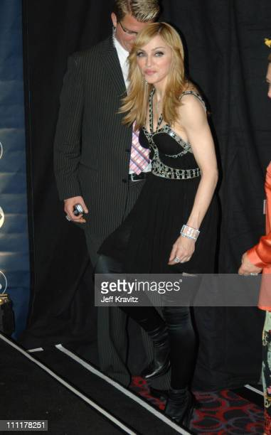 Madonna during The 48th Annual GRAMMY Awards Press Room at Staples Center in Los Angeles California United States