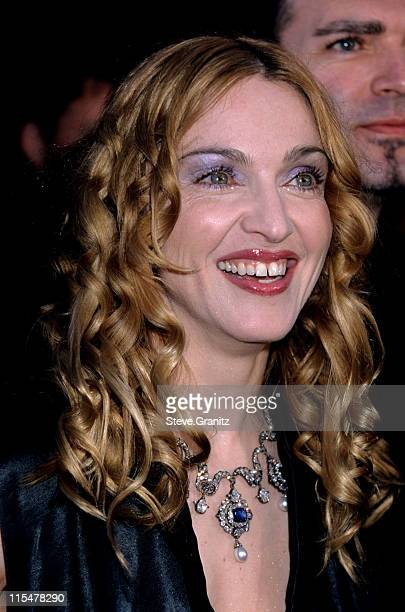 Madonna during The 70th Annual Academy Awards Red Carpet at Shrine Auditorium in Los Angeles California United States