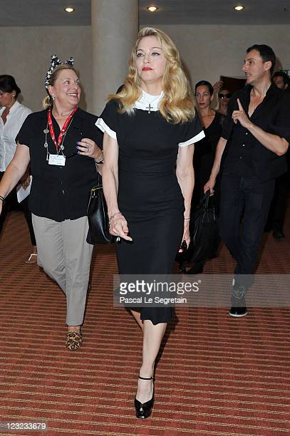Madonna from the film 'WE' at the Hotel Excelsior during the 68th Venice Film Festival on September 1 2011 in Venice Italy