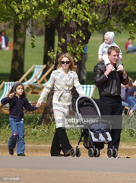 Madonna Guy Ritchie Lourdes Rocco Enjoy An Afternoon In London'S Hyde Park