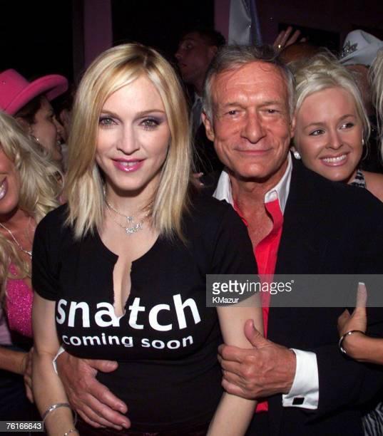 Madonna Hugh Hefner