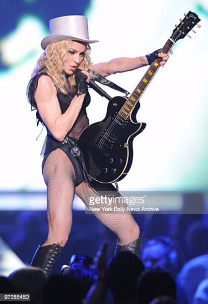 Madonna In Concert at Madison Square Garden