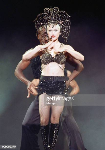 Madonna in concert The Girlie Show World Tour Wembley Stadium 25th September 1993