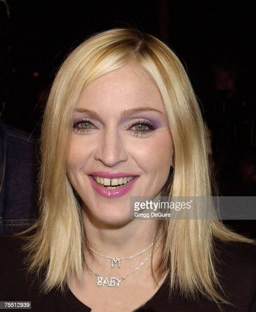 Madonna in Los Angeles California