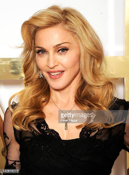 Madonna launches her first signature fragrance, Truth Or Dare By Madonna at Macy's Herald Square on April 12, 2012 in New York City.