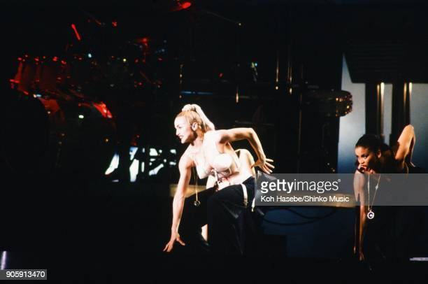 Madonna live Blonde Ambition Japan Tour at Chiba Marine Stadium April 13th Chiba Japan