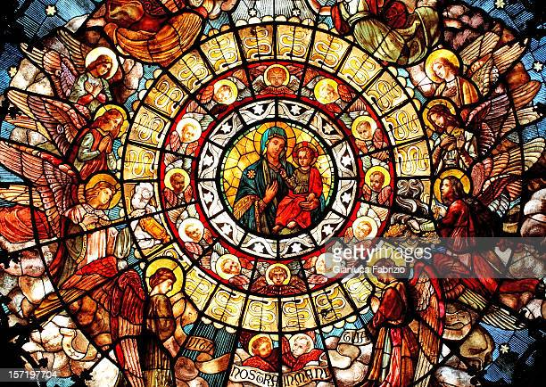 madonna of health - church stock pictures, royalty-free photos & images