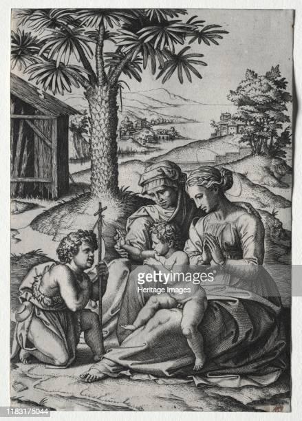 Madonna of the Palm Tree Creator Domenico Maria Canuti