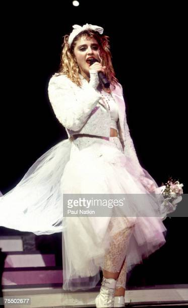 Madonna on 5/18/85 in Chicago Il in Various Locations