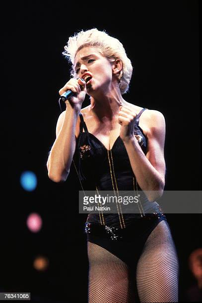 Madonna on 7/31/87 in Chicago Il