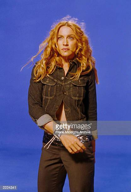 Madonna on the set of her 'Ray of Light' video Photo by Frank Micelotta/ImageDirect 1998*** SPECIAL