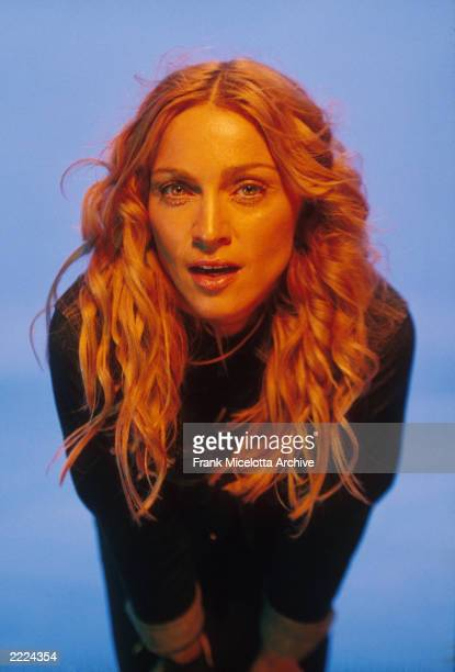 Madonna on the set of her ' Ray of Light' video. Photo by Frank Micelotta/ImageDirect.