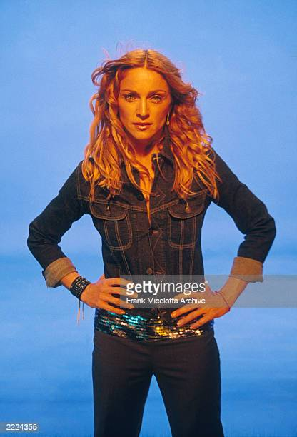 Madonna on the set of her ' Ray of Light' video Photo by Frank Micelotta/ImageDirect*** SPECIAL
