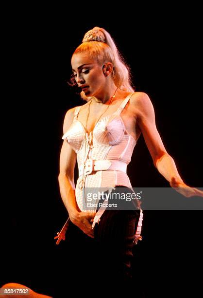 UNITED STATES JULY 13 MADISON SQUARE GARDEN MADONNA Madonna performing on stage Who's That Girl tour