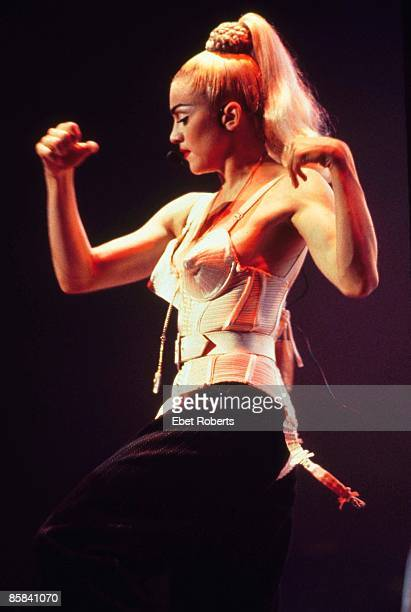 UNITED STATES JUNE 01 MADONNA Madonna performing on tour Blond Ambition Tour