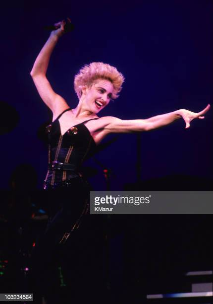 Madonna performs at Various Locations circa 1987 in New York City