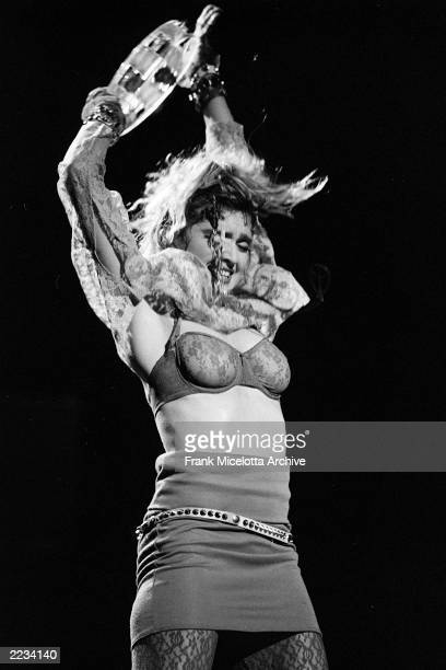 Madonna performs on 'The Virgin Tour' at Radio City Music Hall in New York City June 6 1985 Photo by Frank Micelotta/ImageDirect