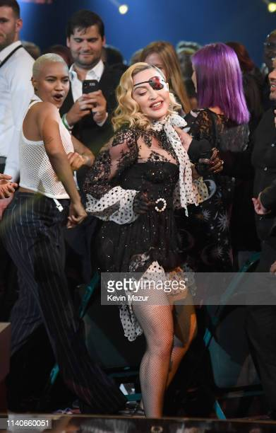 Madonna performs onstage during the 2019 Billboard Music Awards at MGM Grand Garden Arena on May 1 2019 in Las Vegas Nevada