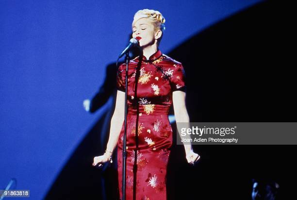 Madonna performs 'Take A Bow' on the 22nd American Music Awards on January 30 1995 in Los Angeles California