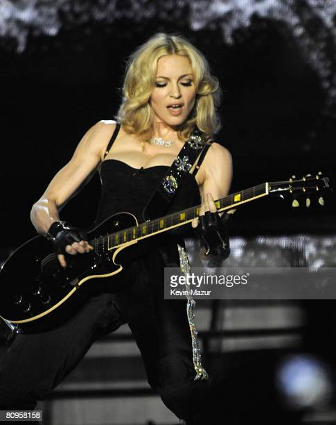NEW YORK APRIL 30 *EXCLUSIVE* Madonna performs thank you show for fans in celebration of the release of Hard Candy at Roseland Ballroom on April 30...